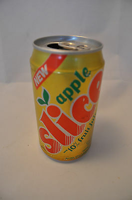 RARE 1987 Introduction of Apple Slice by Pepsi Aluminum Can