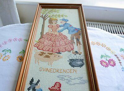 Danish Wall Tapestry Large Framed Picture
