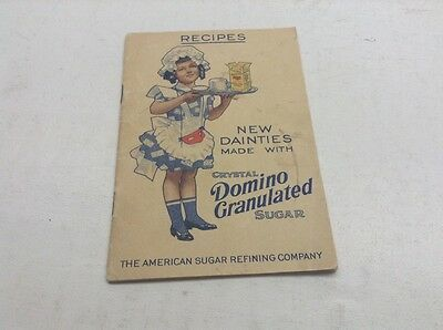 Vintage 1912 Recipes Book American Sugar Refining Company Domino Sugar
