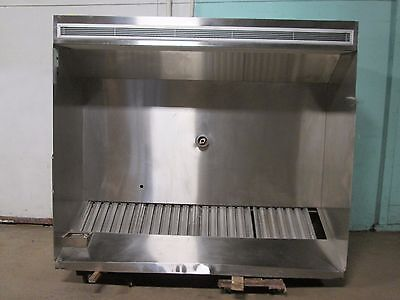 """""""sta-Kool"""" Hd Commercial (Nsf) 86""""w Double Compensating Ss Kitchen Exhaust Hood"""