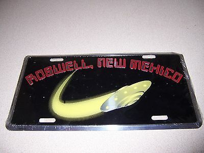 Roswell Nm. Flying Saucer Ufo License Plate