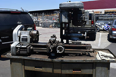 Emco maximat compact lathe Milling Machine Vertical Mill Mk.2  Made in Austria