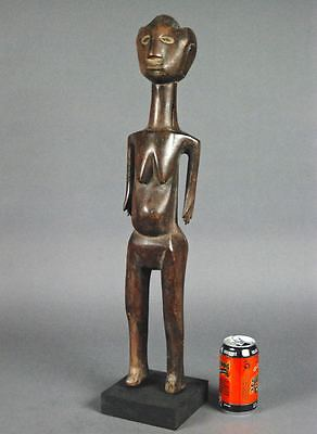 24.5 inch Beautiful GOGO FEMALE Figure TANZANIA Carved Wood Sculpture Africa