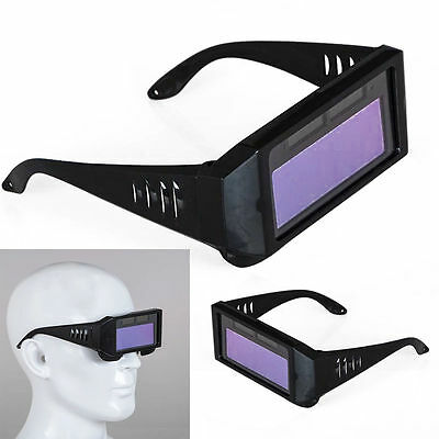 Solar Powered Auto Darkening Welding Mask Helmet Eyes Goggle Welder Glasses Arc