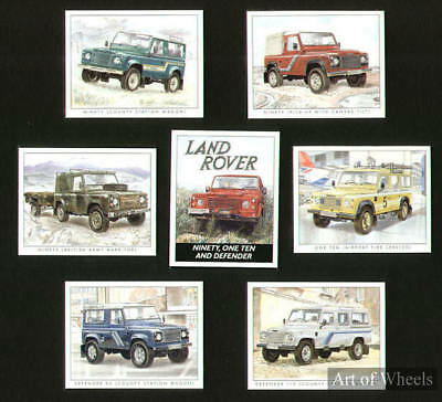Land Rover Ninety One-Ten Defender 90 110 Trade Cards