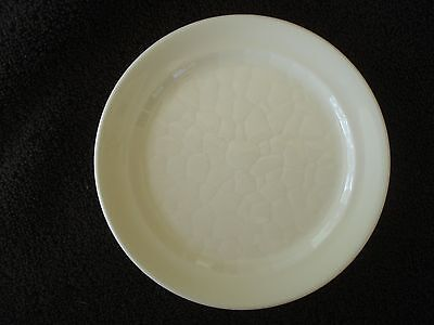 Syracuse China Small White Textured Plate 5 1/2""