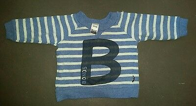 Bonds Boys Jumper  - Size 000 0 - 3 months