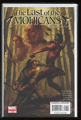 Marvel Illustrated: The Last Of The Mohicans #1-6 Near Mint Complete Set 2007