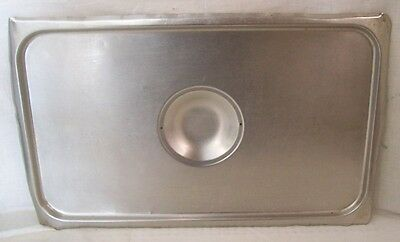 Restaurant Supplies FULL SIZE STAINLESS STEEL STEAM TABLE FOOD PAN LID