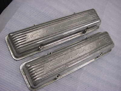 Corvette Chevy 1955-1959 Staggered Bolt Pattern Valve Covers