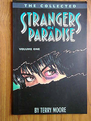 Strangers In Paradise, volume 1 by Terry Moore, TPB,  Graphic Novel , 1995