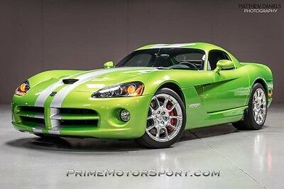 2009 Dodge Viper  2009 DODGE VIPER SRT10 COUPE 1OWNER COLLECTOR QUALITY ONLY 97 MILES