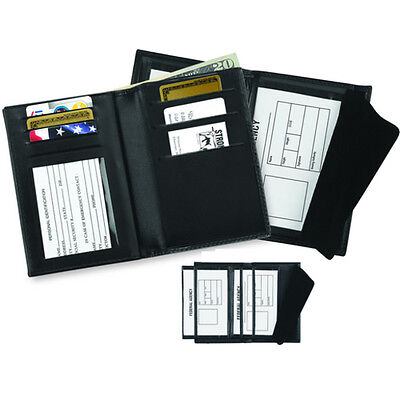 """Strong Leather 7990C-0002 Double 3"""" x 4.5"""" ID & Credit Card Wallet"""