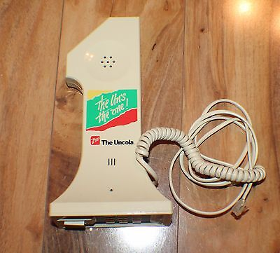 Vintage 7up The Un Cola Uncola Telephone Phone The Un's The One FREE S&H
