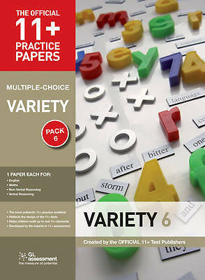 11+ Practice Papers, Variety Pack 6 (Multiple Choice), GL Assessment