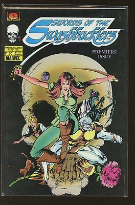 Swords Of The Swashbucklers  #1-12 Near Mint Complete Set 1985 Epic Comics