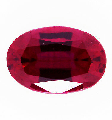 1.40ct!! NATURAL RUBY EXPERTLY FACETED IN GERMANY +CERTIFICATE INCLUDED