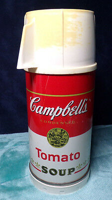 Vintage ~ Campbell's Tomato Soup ~ Universal ~ Thermos ~ Metal Can