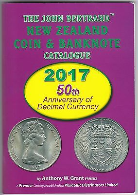 """2017 """"John Bertrand"""" Nz Coin & Banknote Catalogue - Signed By The Author"""