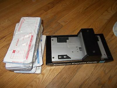 AMERICAN EXPRESS Manual CREDIT CARD IMPRINTER & CREDIT CARD SLIPS