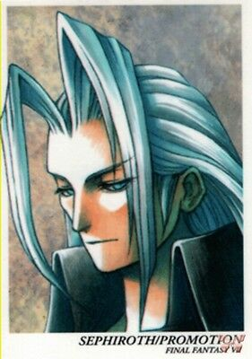 Final Fantasy 7 VII Art Museum First Ed Trading Card P-02 Sephiroth / Promotion