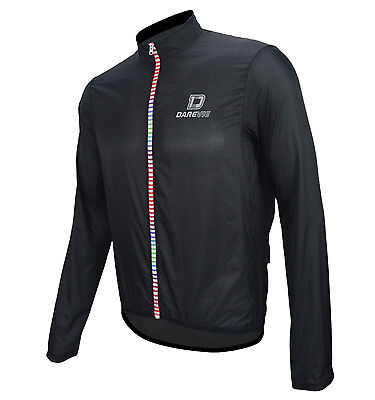 Windproof Mens Soft Superlight Spray Jacket Darevie DVJ058 Black