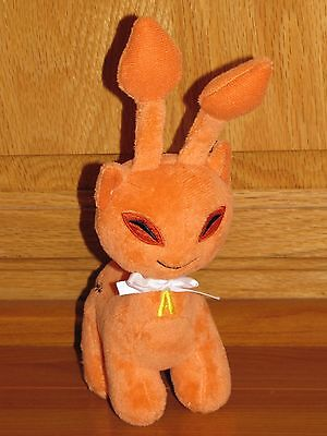 Rare Neopets Orange Aisha plush plushie Series 4 Saimese Alien Cat New No Code