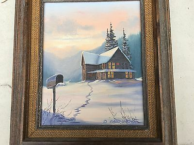ROBERT WATSON ? ORIGINAL PAINTING OIL ON Canvas, SIGNED
