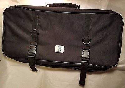 Mercer Culinary Triple-Zip 21-Pocket Knife Case - Used-great condition