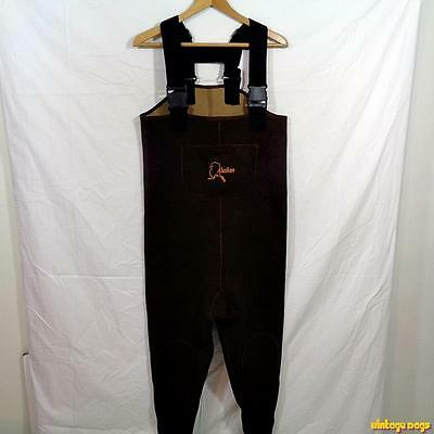 ALASKAN Booted 3.0 mm Neoprene Chest Waders Hunting Mens Size S Brown