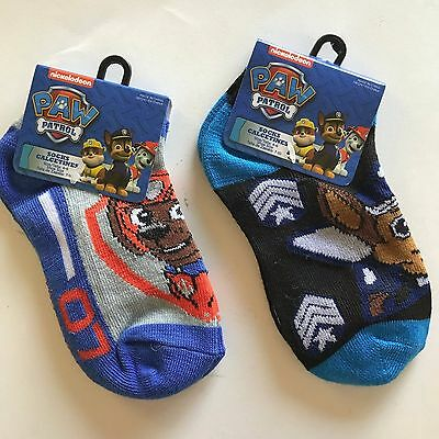 SOCKS Paw Patrol set of 2 different Pair size 4-6 shoe 7-10 NEW