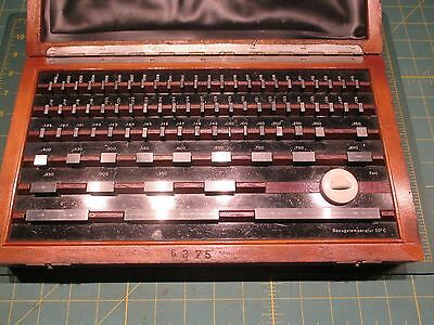 Machinist Tools * Gage Blocks * Made In Germany
