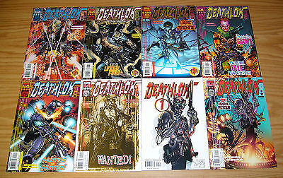 Deathlok vol. 3 #1-11 VF/NM complete series + white variant - joe casey M-TECH