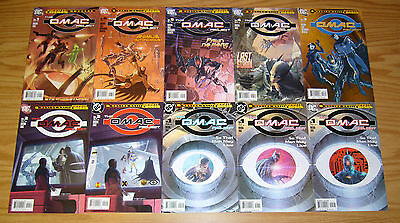 OMAC Project #1-6 VF/NM complete series + (3) variants + infinite crisis special