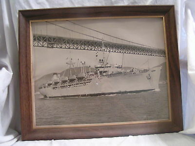 U.s. Navy Photo Of The General A.w. Brewster Ship
