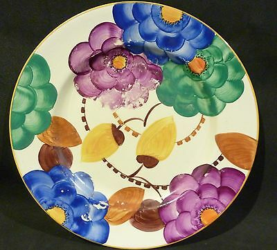 GRAY'S POTTERY SUSIE COOPER, HAND PAINTED DINNER PLATE 26.5 cm