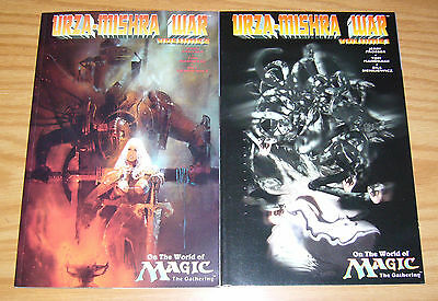 Urza-Mishra War on the World of Magic the Gathering #1-2 VF/NM complete series