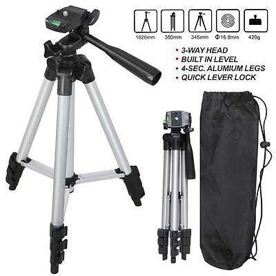 Digital Aluminum Camera Camcorder Portable Tripod Stand + Bag For Canon Nikon US
