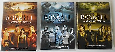 Roswell Complete Series Season 1, 2 & 3 - DVD TV Shows BRAND NEW