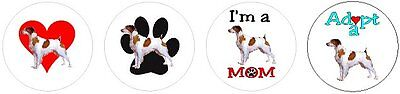 Assortment of 252 Brittany dog stickers seals labels