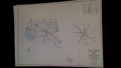 Rains County Texas Highway Map  1970 1980 Census Figures