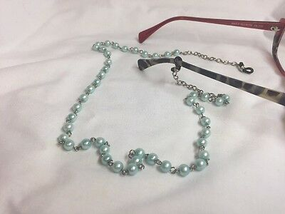 Vintage Inspired Glasses Spectacle Chain Hand Made One Of A Kind Great Gift