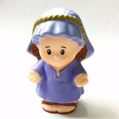 Fisher-Price Little People Nativity Bible Story Holy Mother Mary CHRISTMAS Toy