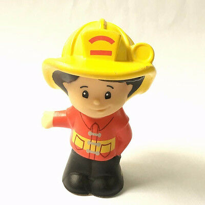 Fisher-Price Little People Koby Fireman Take-Along Fire Station figure Baby Doll