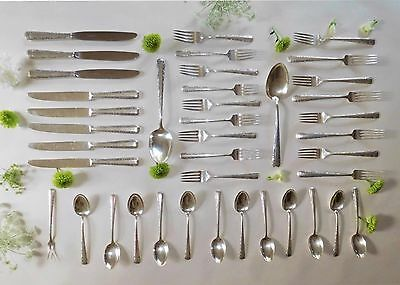 Towle Candlelight Sterling Silver Flatware Set For 8 - 40 Pieces