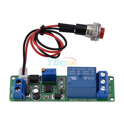 12V DC Delay Turn OFF Switch Timing Timer Time Relay Module 1~10s w/ Trigger coi
