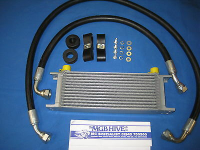 Brand New Mgb Roadster Or Gt 13 Row Oil Cooler Kit Rubber 1967 To 1974 **a2A