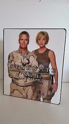 Stargate SG1 Season 7 official binder/album from Rittenhouse Archives