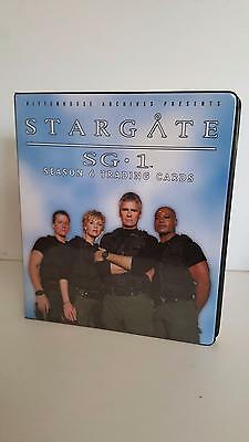 Stargate SG1 Season 6 official binder/album from Rittenhouse Archives