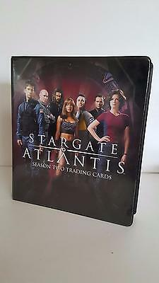 Stargate Atlantis Season 2 official binder/album from Rittenhouse Archives